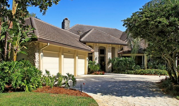 Georgetown homes at Pelican Bay