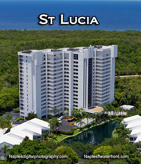 St. Lucia High-rise condos in Pelican Bay