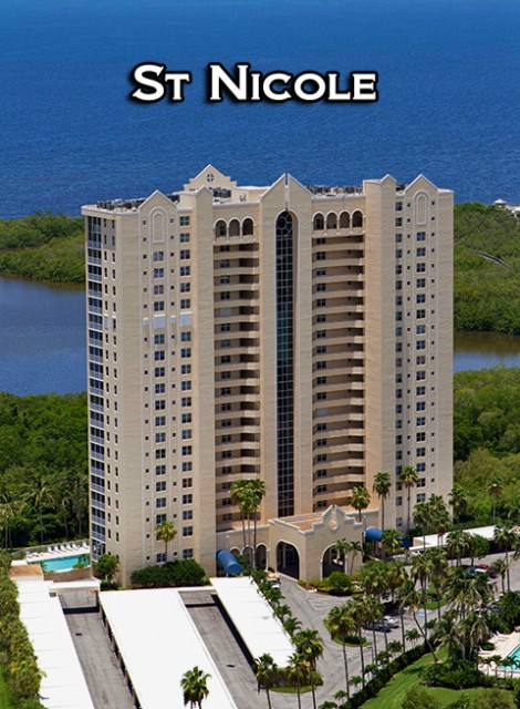 St. Nicole High-rise condo units at Pelican Bay