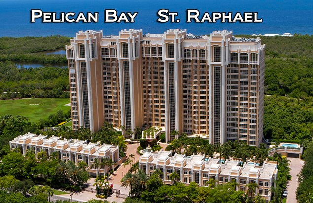 St. Raphael high-rise condos at Pelican Bay